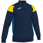 Bluza JOMA Crew III 1/3 Dark Navy - Yellow