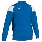 Bluza JOMA Crew III 1/3 Royal - White (1)