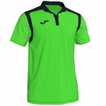 Koszulka Polo JOMA Champion V Green Fluor - Black