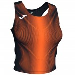 Bluzka JOMA Olimpia Black - Orange VIF