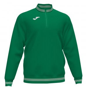 Bluza JOMA 1/2 Campus III  Medium Green / White