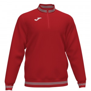 Bluza JOMA 1/2 Campus III  Red / White