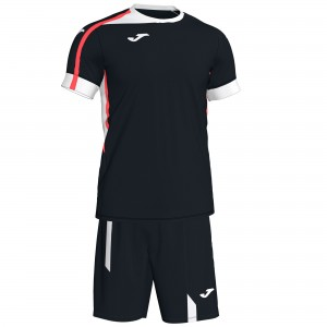 Set  Joma Roma II Black-White