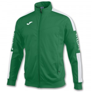 Bluza JOMA Champion IV Green Medium/White