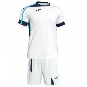 Set  Joma  Roma II White-Navy