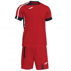 Set  Joma  Roma II Red-Black-White