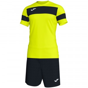 Set  Joma Academy II Yellow - Black
