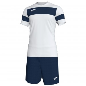 Set  Joma Academy II White - Dark Navy
