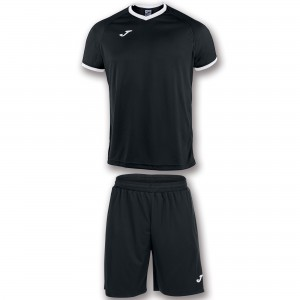 Set  Joma Academy Black - White