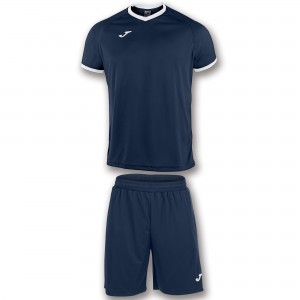 Set  Joma Academy Dark Navy - White