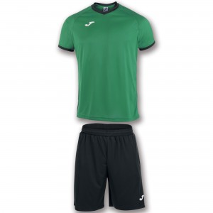 Set  Joma Academy Green Medium - Black