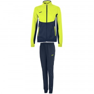 Dres JOMA Essential Woman Yellow Fluor - Dark Navy
