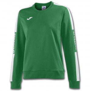 Bluza JOMA  Champion IV Woman Green Medium - White