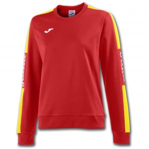 Bluza JOMA  Champion IV Woman Red - Jellow