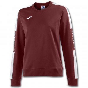 Bluza JOMA  Champion IV Woman Burgundy - White