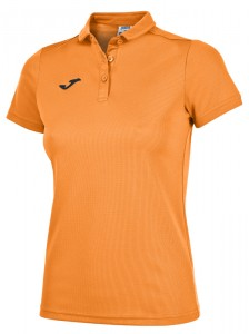 Bluzka JOMA Hobby Polo Woman Orange Fluor