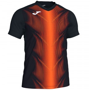 Koszulka JOMA Olimpia Black - Orange VIF