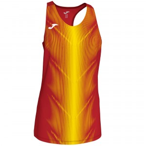 Bluzka JOMA Olimpia Red - Yellow