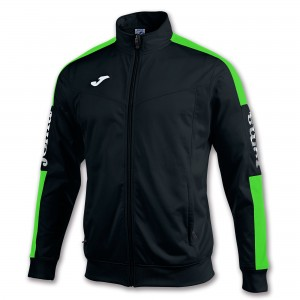 Bluza JOMA Champion IV Black/Green fluor