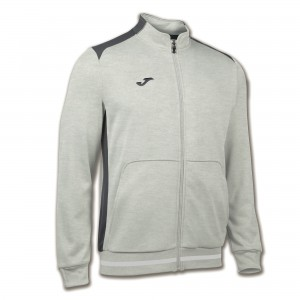 Bluza JOMA Campus II Man fleece light melange/anthracite