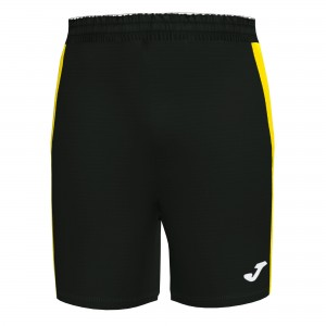 Spodenki JOMA Maxi Black / Yellow