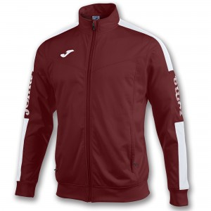 Bluza JOMA Champion IV Burgundy/White