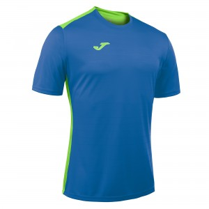 Koszulka JOMA Campus II royal/green fluor