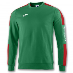 Bluza JOMA Champion IV Green Medium/Red